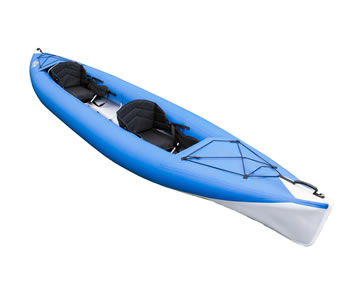 NERIS Smart-2 inflatable folding tandem kayak canoe