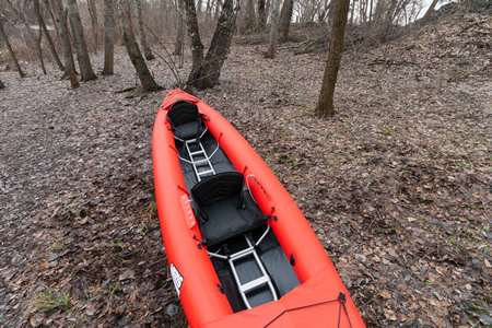 Neris SMART-2 PRO hybrid folding kayak